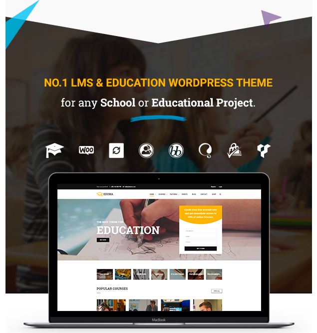 Eduma theme feature