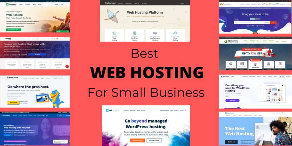 best web hositng for small business