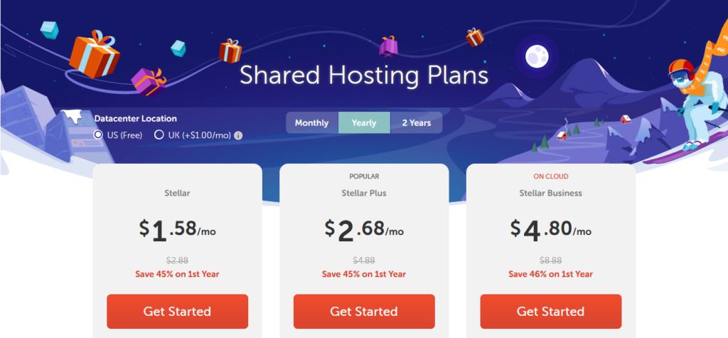 namecheap hosting price