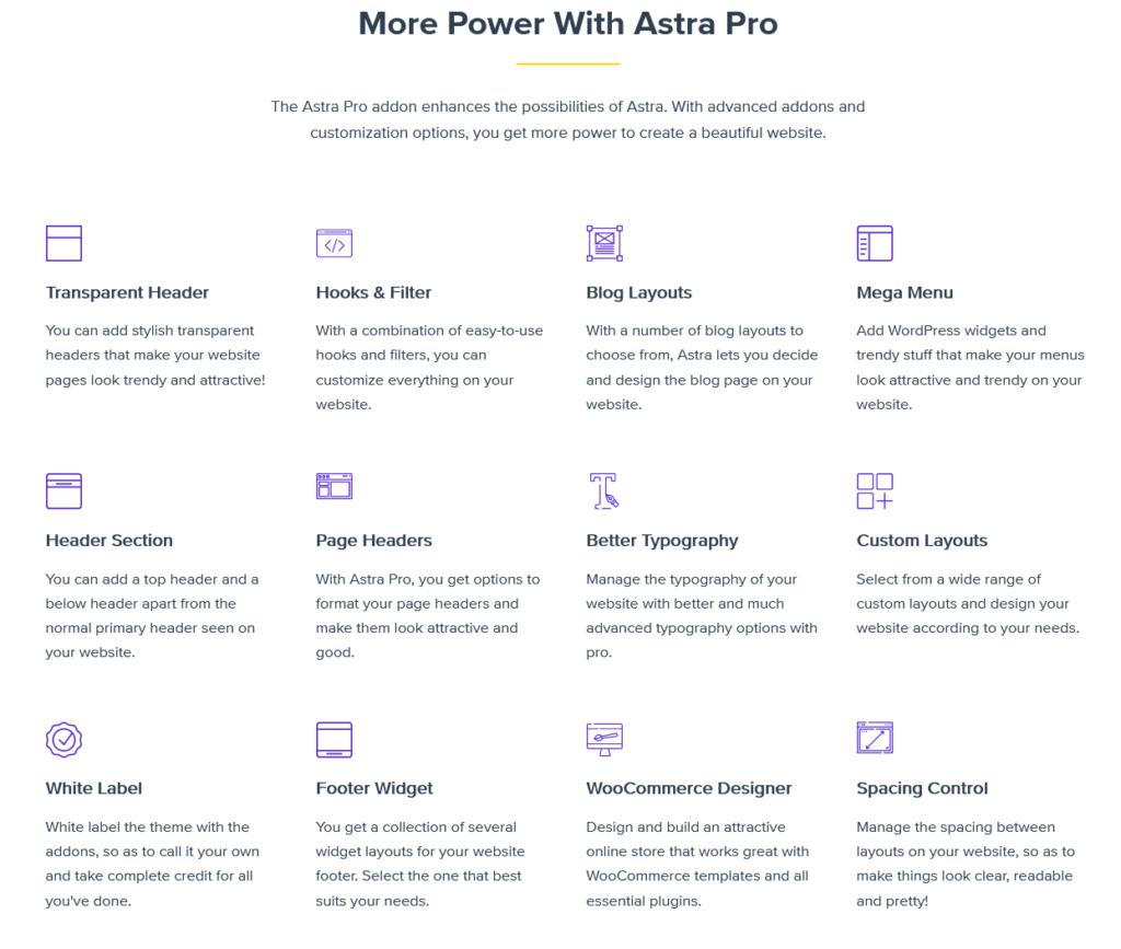 astra free vs pro