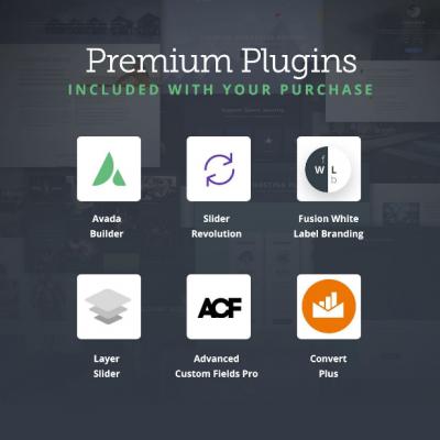 Avada Plugin WordPress