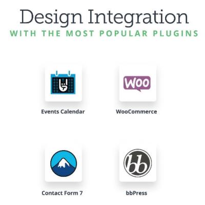 Avada theme design